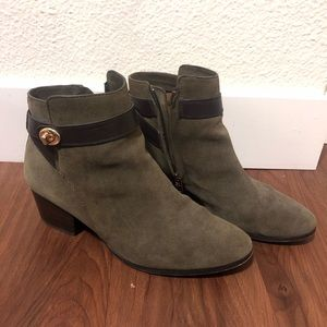 Coach - Suede ankle booties